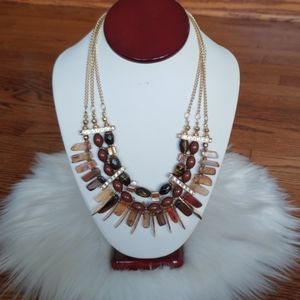M.haskell African bib necklace masterpiece